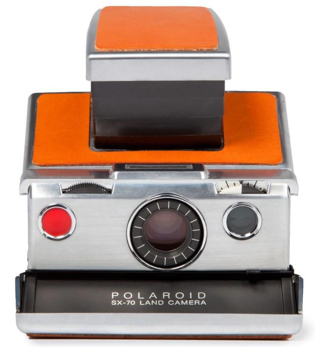 IMPOSSIBLE Chrome Body (Brown) Refurbished Vintage Polaroid SX-70 Camera