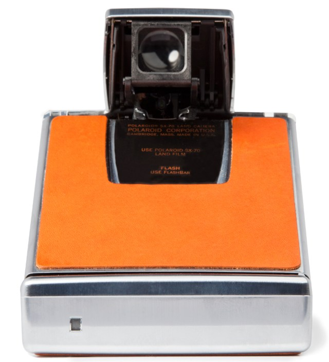 IMPOSSIBLE Chrome Body (Brown) Refurbished Vintage Polaroid SX-70 Camera