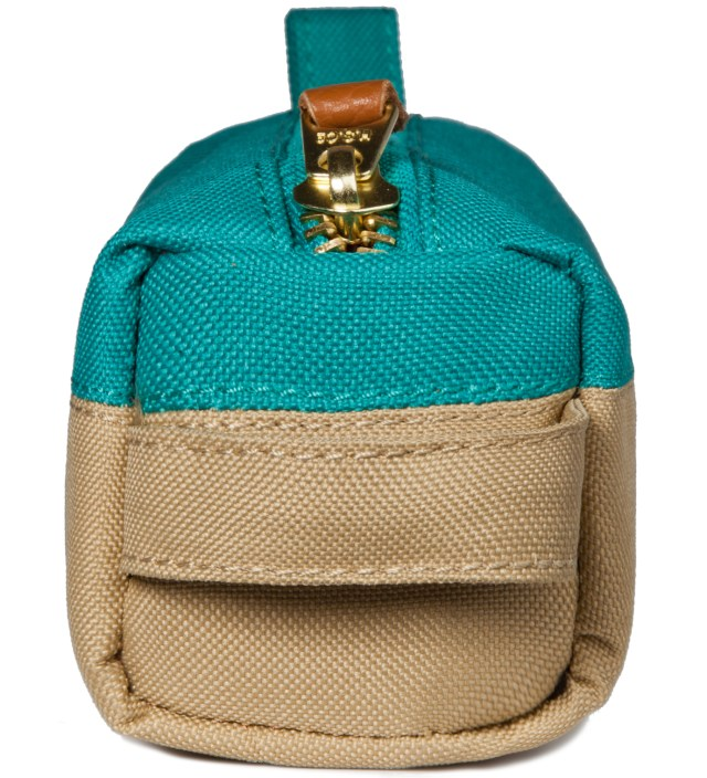 Herschel Supply Co. Khaki/Teal Settlement Case