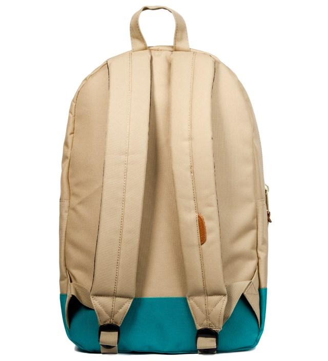 Herschel Supply Co. Khaki/Teal Settlement Backpack