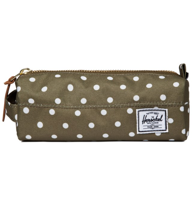 Herschel Supply Co. Olive Polka Dot Settlement Case