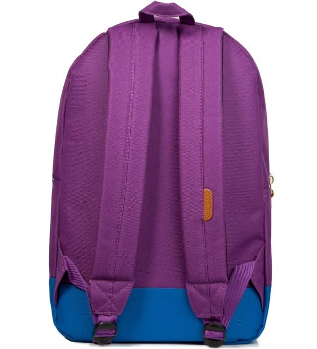 Herschel Supply Co. Purple/Cobalt Settlement Backpack