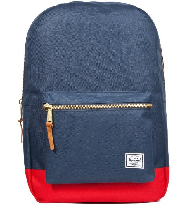 Herschel Supply Co. Navy/ Red Settlement Backpack