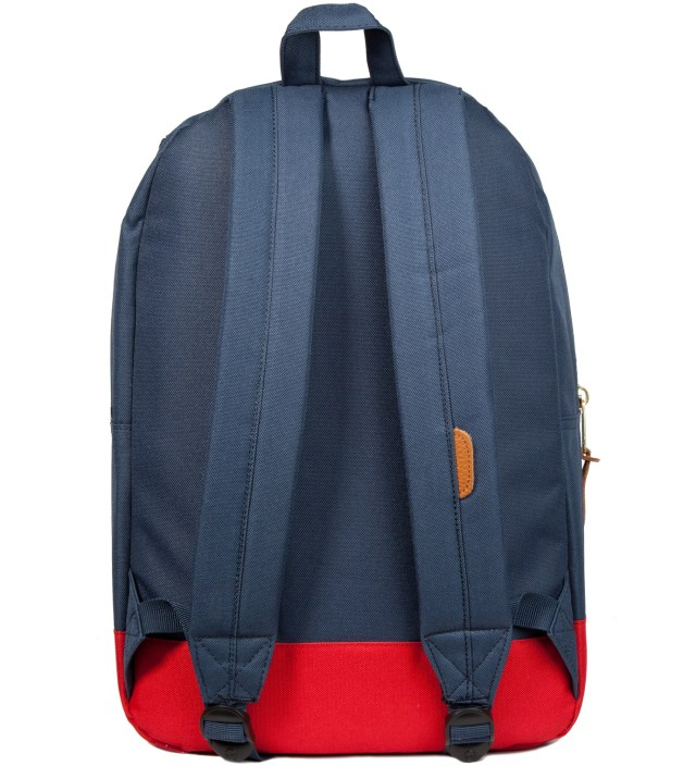 Herschel Supply Co. Navy/ Red Settlement Backpack