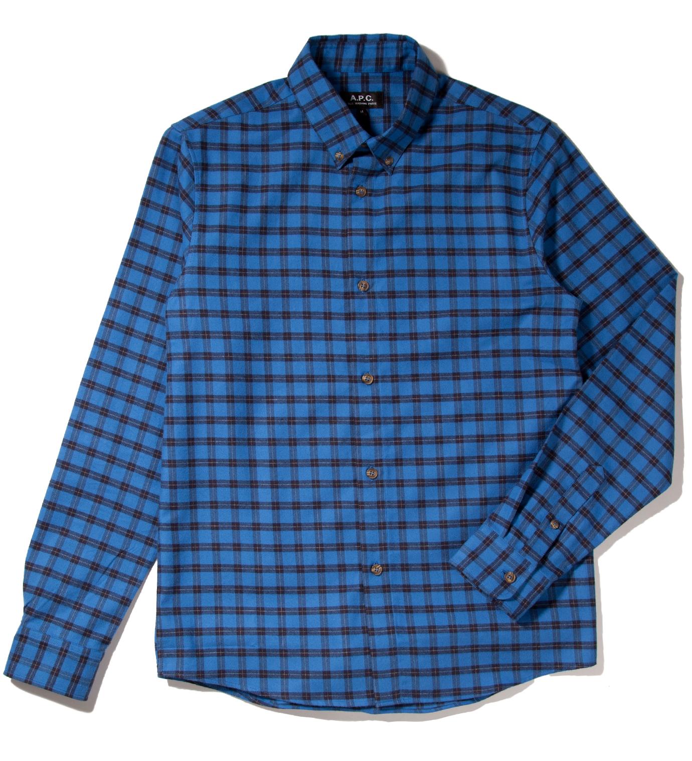 A.P.C. Indigo Chemise Shirt