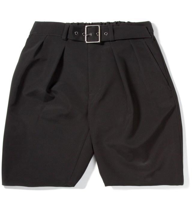 3.1 Phillip Lim Black Karate Short with Adjustable Belt