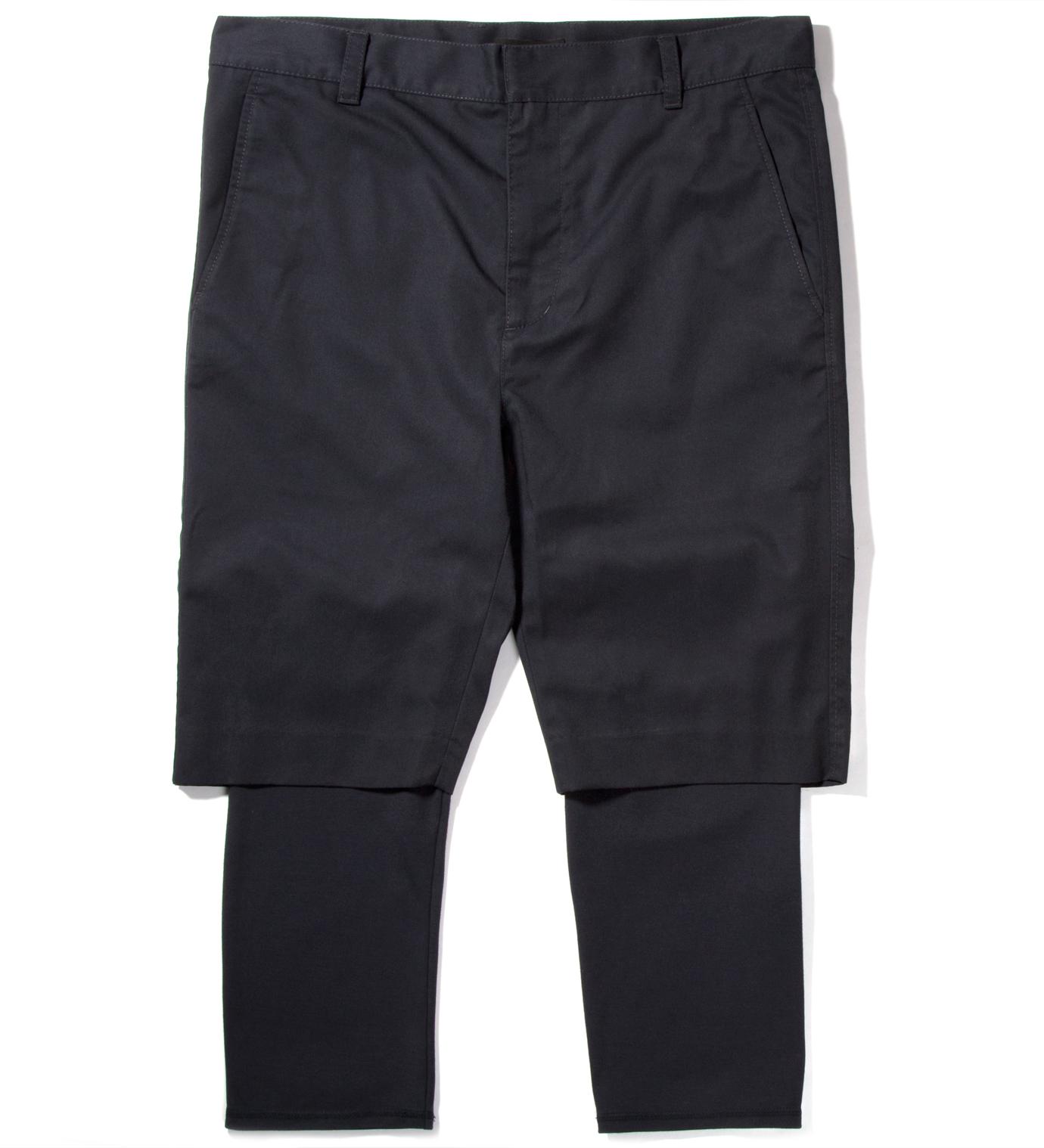 3.1 Phillip Lim Midnight Slim Fit Short with Knit Cuff