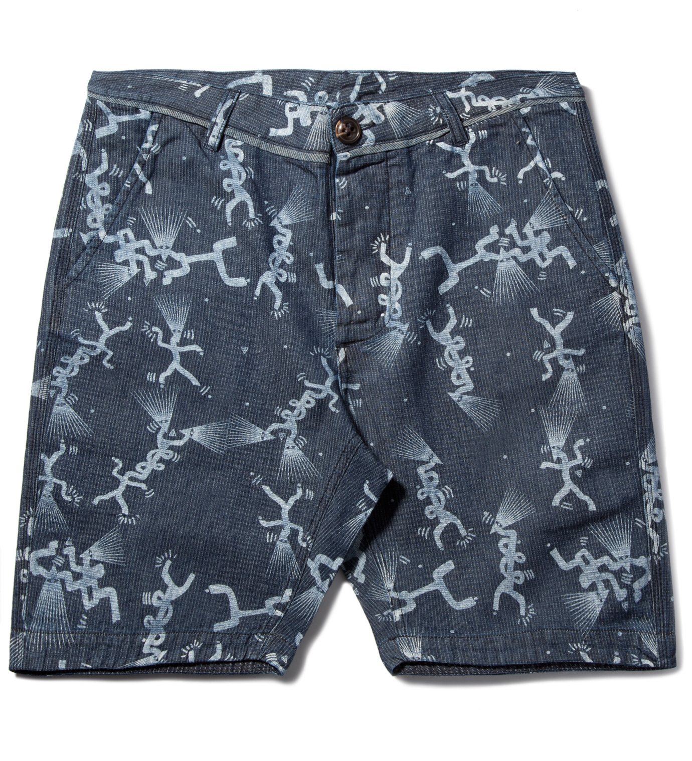 Volklore Indigo Navy Tribe Short