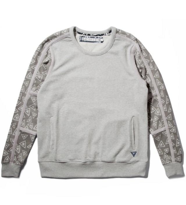 Volklore Grey Marl Ziggy Crewneck