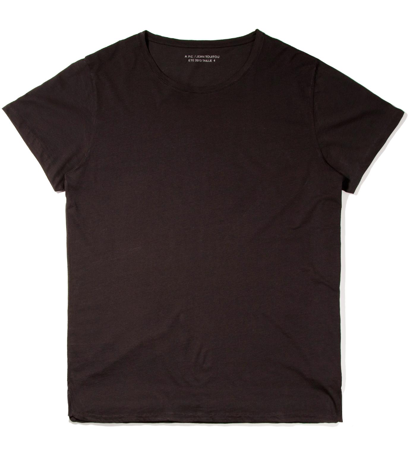 A.P.C. Black T-Shirt