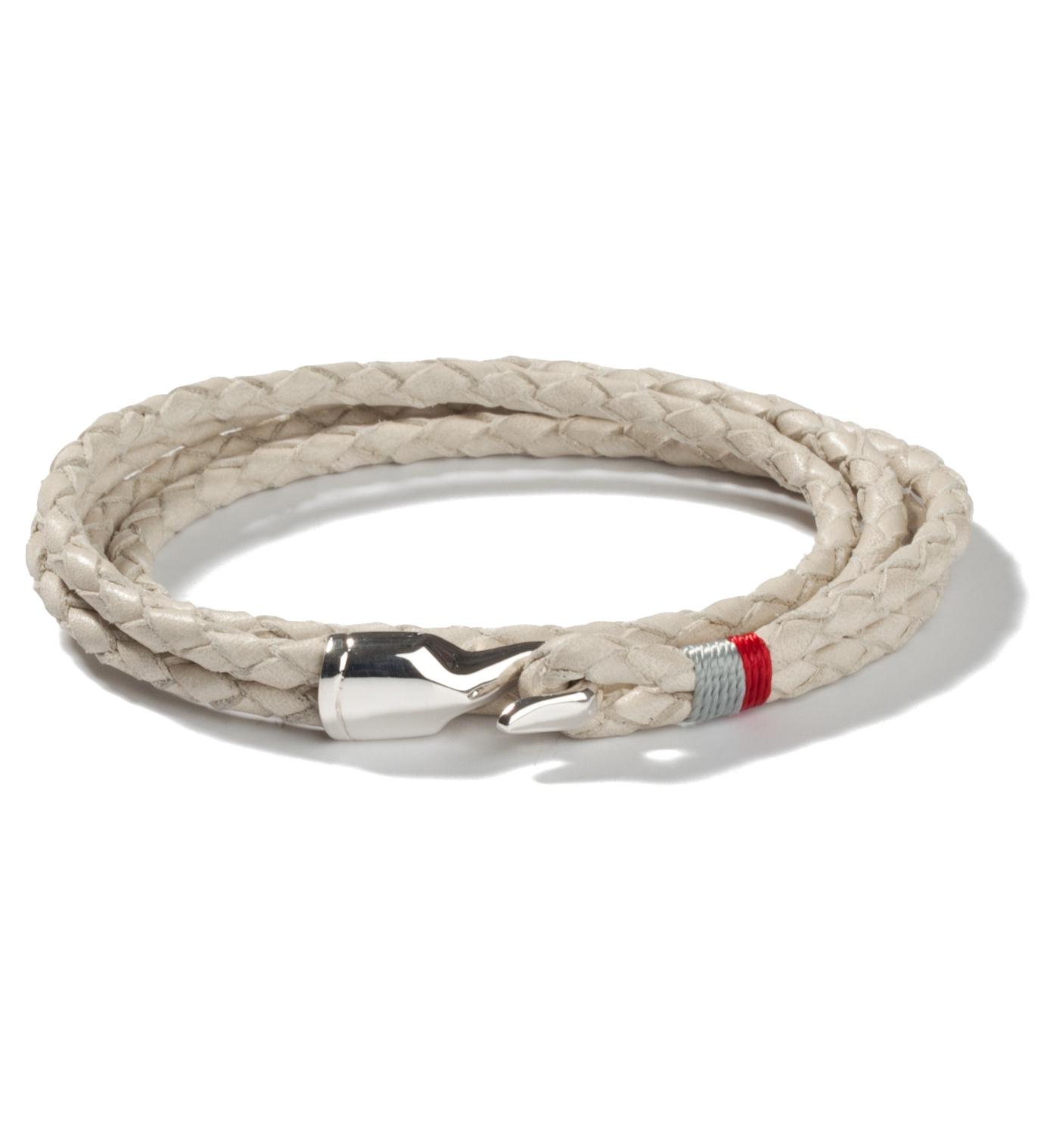 Miansai Cement Trice Silver Bracelet