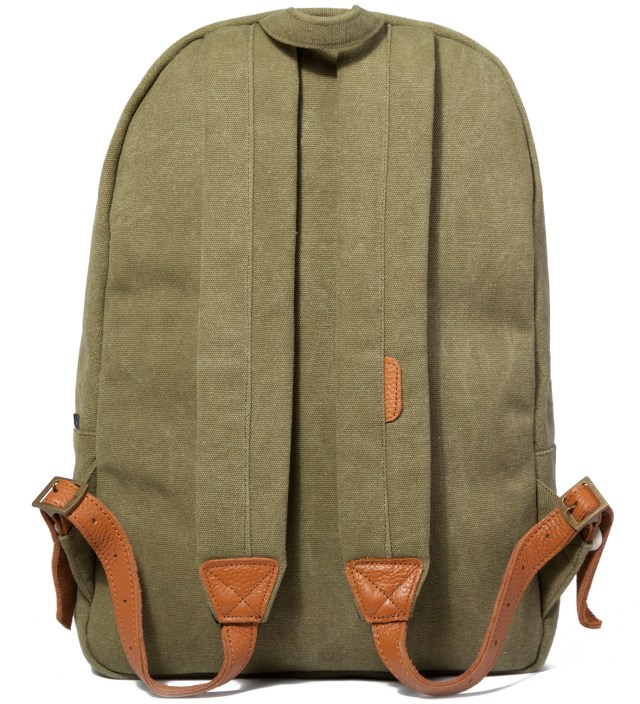 Herschel Supply Co. Washed Army Woodlands Canvas Backpack