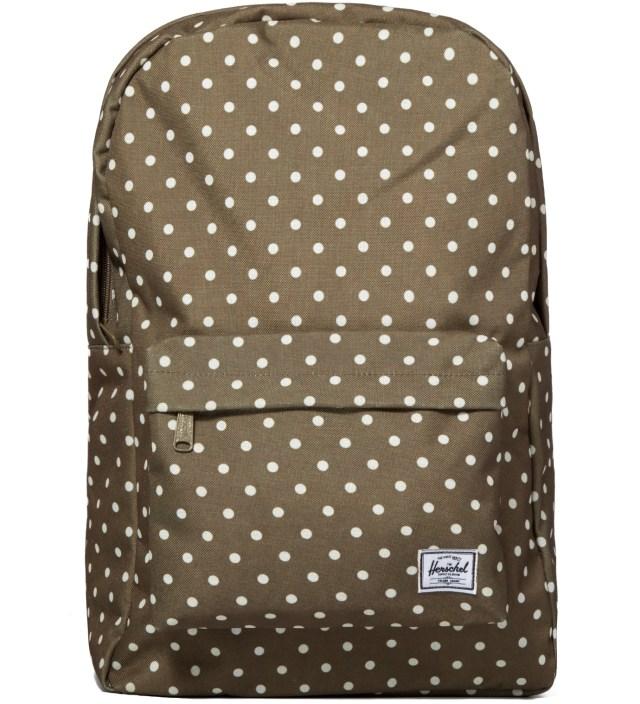 Herschel Supply Co. Olive Polka Dot Classic Backpack
