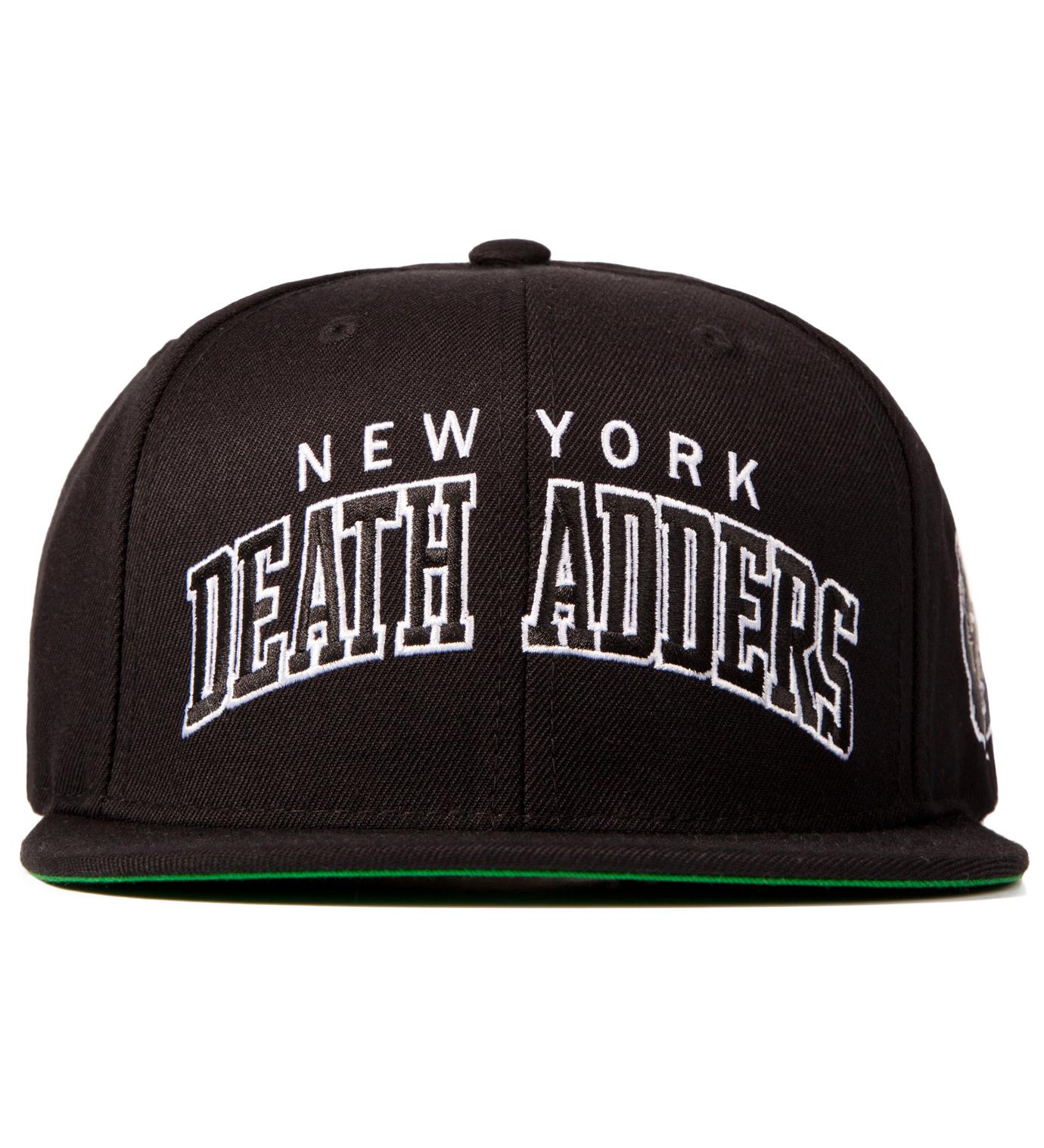 Mishka Black Death Adder Varsity Starter Snapback Cap