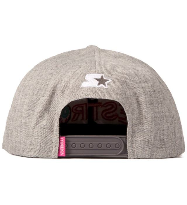 Mishka Heather Grey No Nonsense Starter Snapback Cap