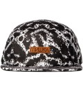Mishka Black Space Truckin' 5-Panel Camper Cap