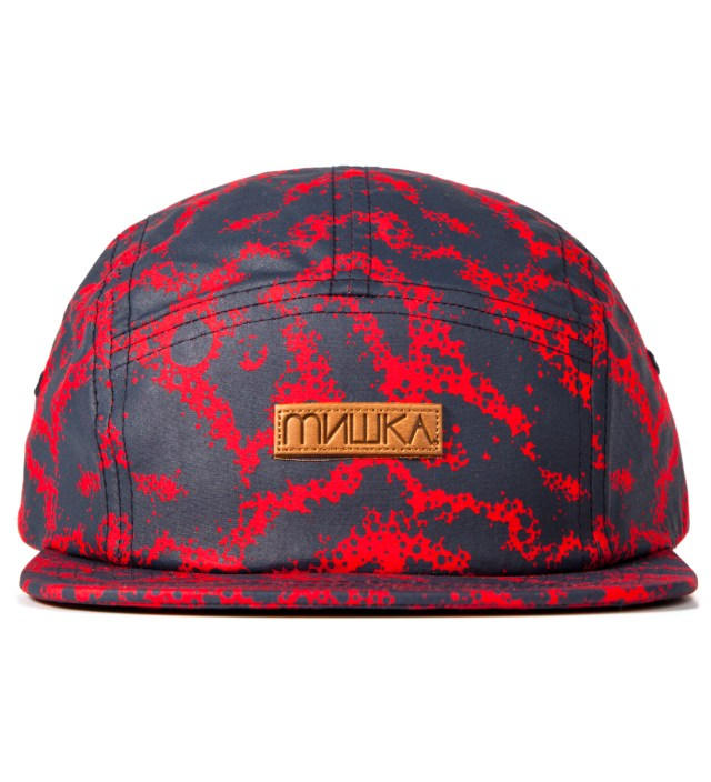 Mishka Navy Space Truckin' 5-Panel Camper Cap