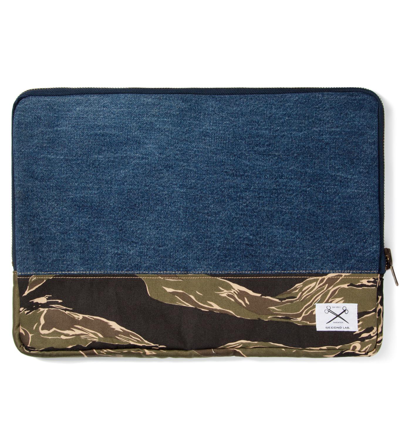 SECOND LAB Tiger Stripe Clutch Bag