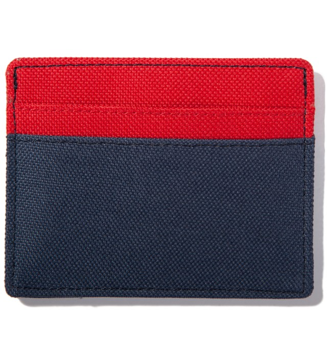 Herschel Supply Co. Red/Navy Charlie Card Case