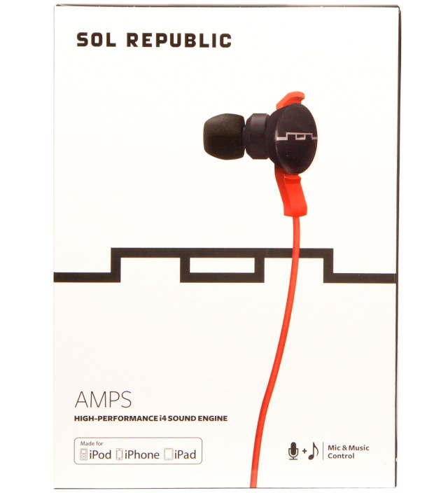 SOL REPUBLIC Red Amps Headphones