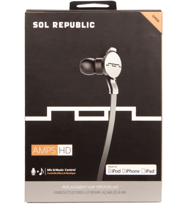 SOL REPUBLIC Aluminum Amps HD Headphones