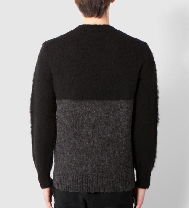 DELUXE Black Bunny Sweater