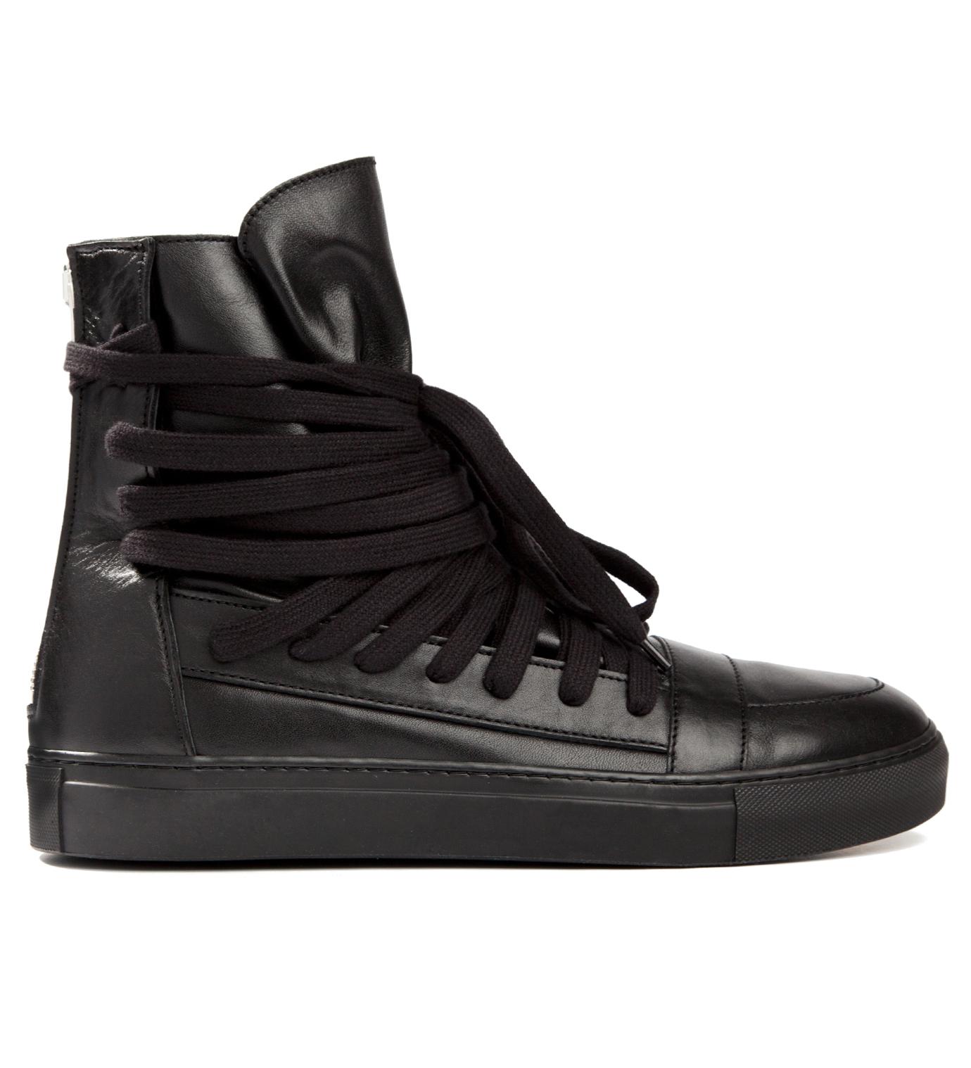 KRISVANASSCHE Black Multi Laces Sneakers