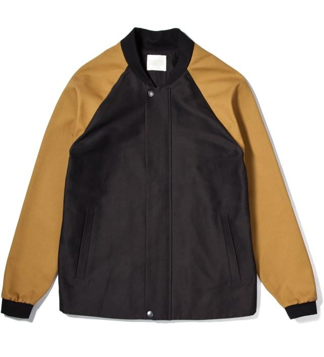 Lou Dalton Black/Dark Stone Blouson Shirt