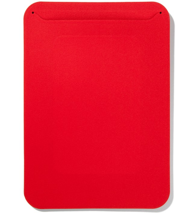 Côte&Ciel Carmine Red Microfibre Fabric Pouch iPad Mini Case