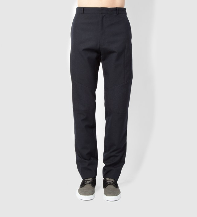 Lou Dalton Navy Mix Enginered Trouser
