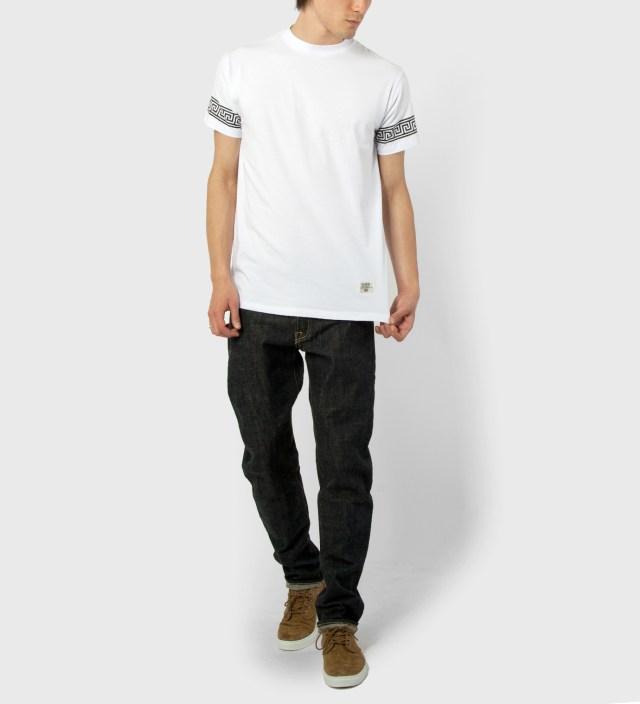 Mister White/Black Mr. Greek T-Shirt