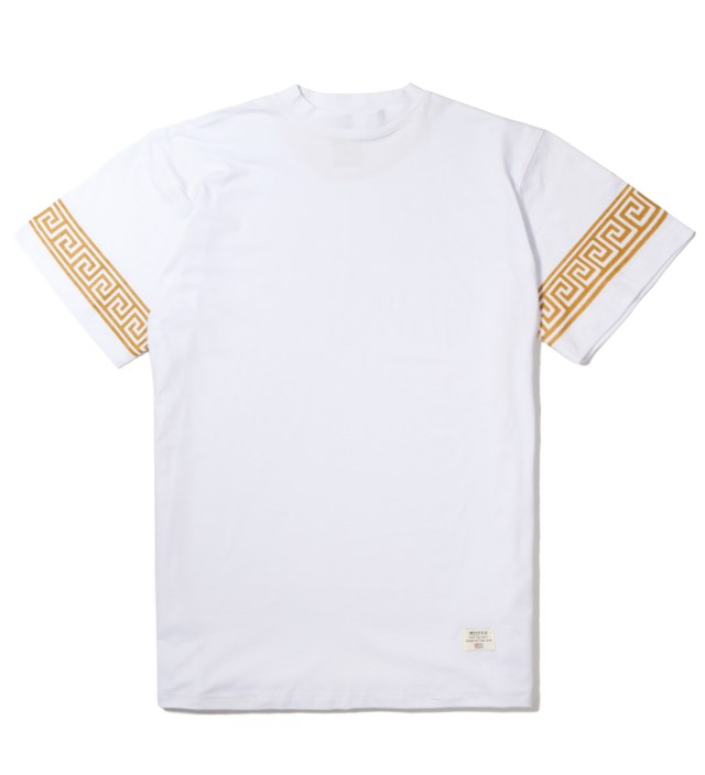 Mister White/Gold Mr. Greek T-Shirt