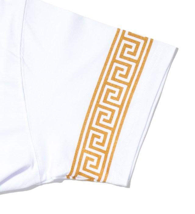Mister White/Gold Mr. Greek T-Shirt