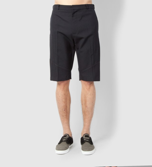 Lou Dalton Navy Mix Enginered Short
