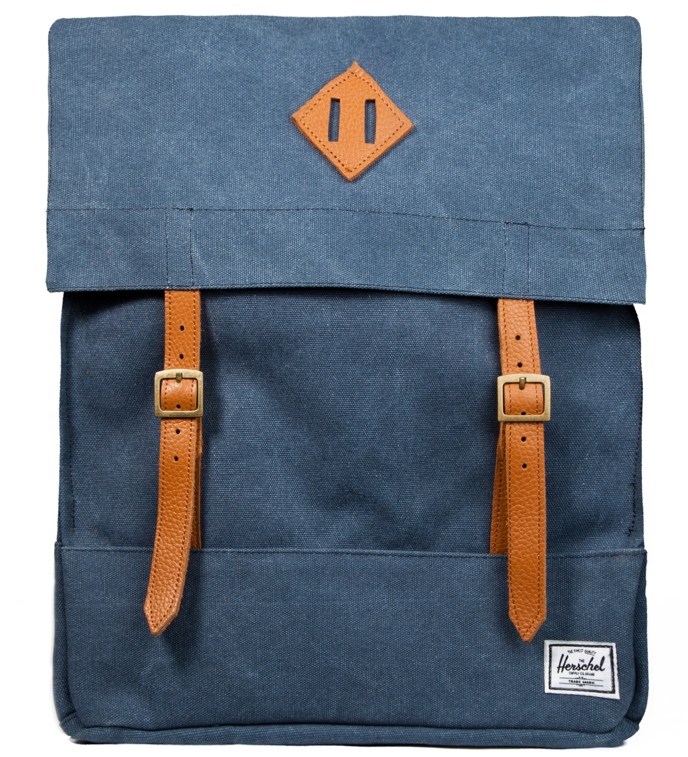 Herschel Supply Co. Washed Navy Survey Canvas Backpack