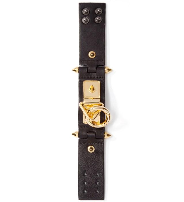 AMBUSH Black/Gold VVV Bracelet