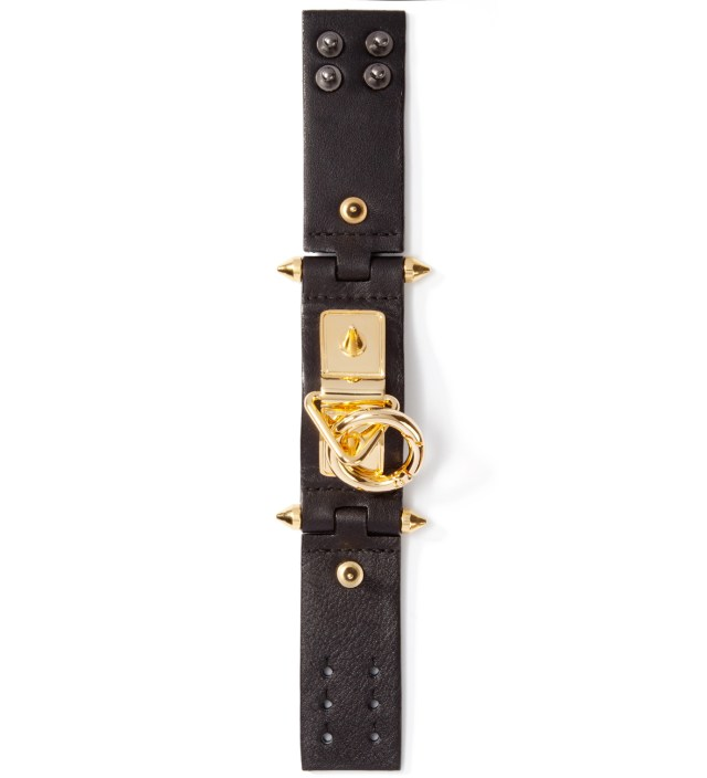 AMBUSH Black/Gold VVV Bracelet