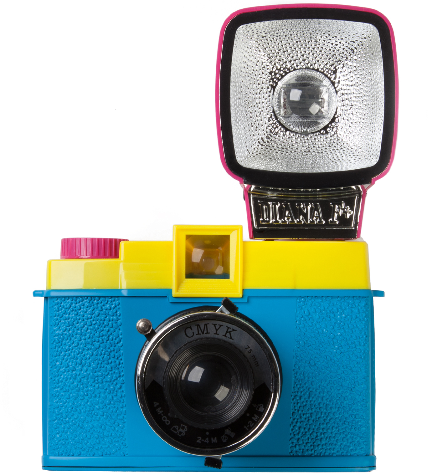 Lomography Diana F+ with flash CMYK