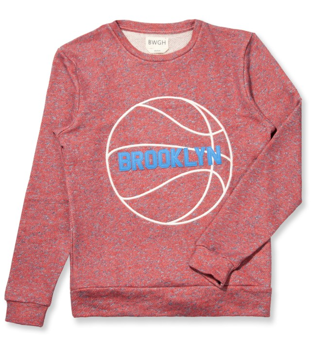 BWGH Red/White Basket Sweater