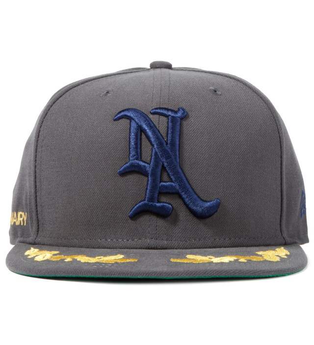 Mark McNairy Grey New Amsterdam New Era Snapback Cap