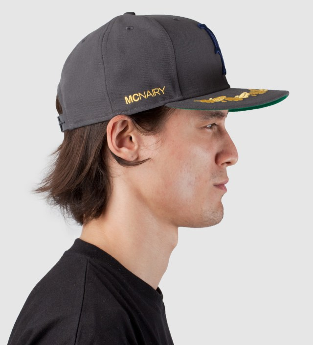 Mark McNairy Grey New Amsterdam New Era Snapback Cap