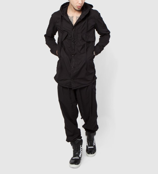 SILENT DAMIR DOMA Black Jokesia MNS Hooded Jacket