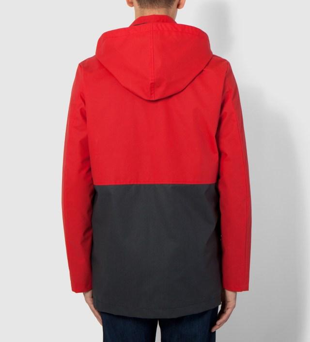 Hentsch Man Navy/Red Mondrian Block Jacket