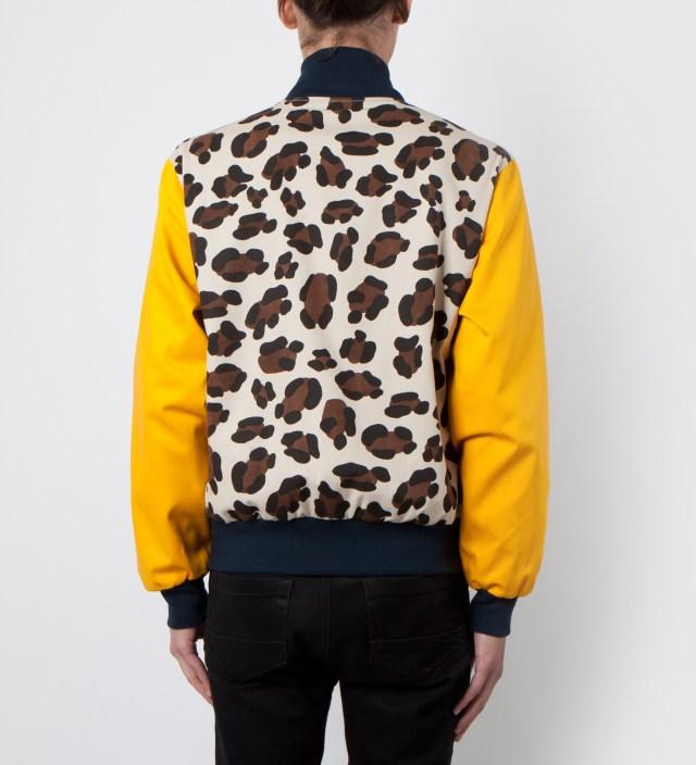 Mark McNairy Leopard Varsity Jacket