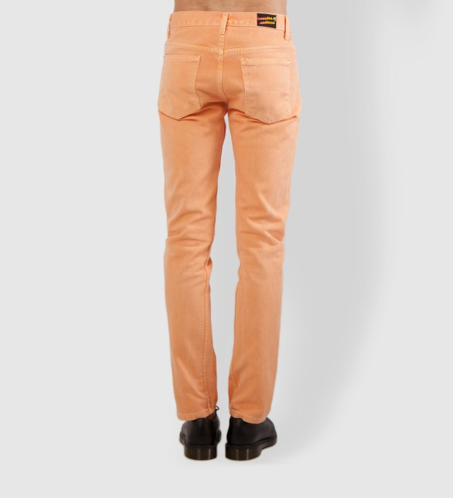 Warriors of Radness Yellowish Apricot Prism Jeans