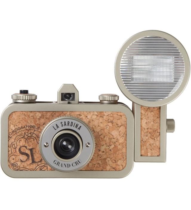 Lomography La Sardina Camera & Flash - Sparkling