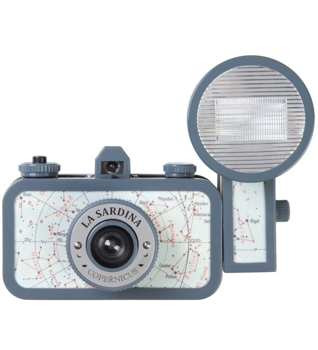 Lomography La Sardina & Flash Copernicus