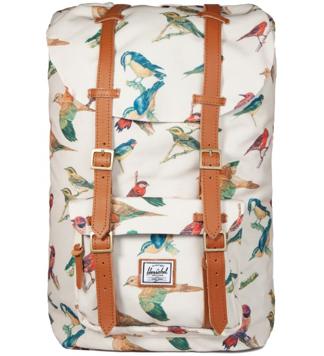 Herschel Supply Co. Bird Print Little America Backpack