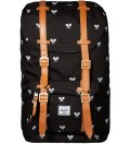 Herschel Supply Co. White Embroidery Little America Cordura Bag