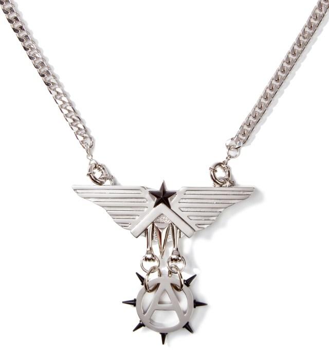 AMBUSH Silver Eagle Pendant